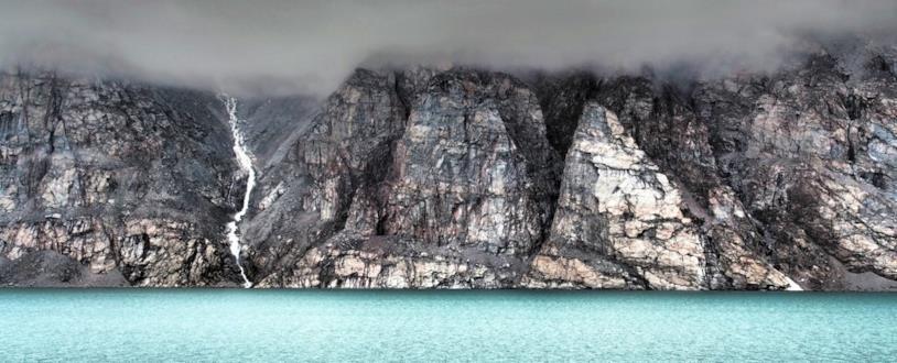 Un'immagine dove è possibile osservare l'Isola di Baffin