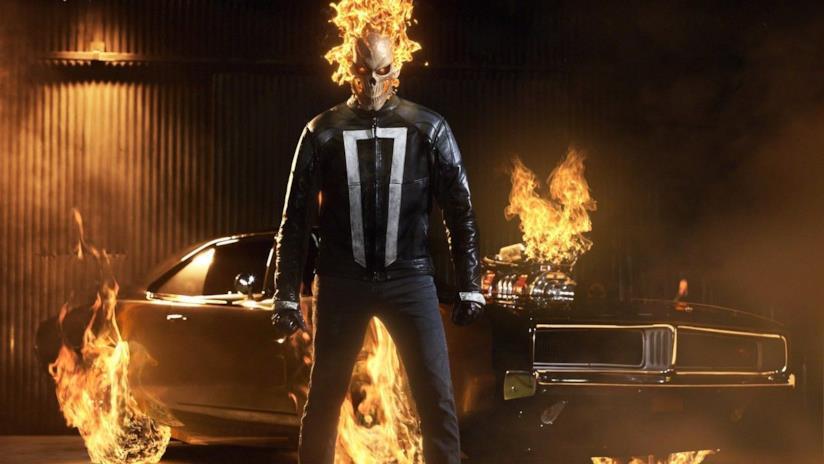 Ghost Rider in un'immagine promozionale di Marvel's Agents of S.H.I.E.L.D. 4