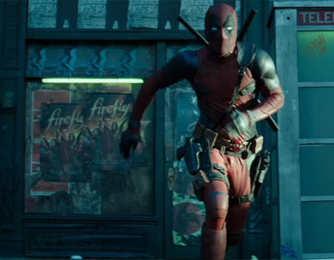 Deadpool 2: l'easter egg per Firefly