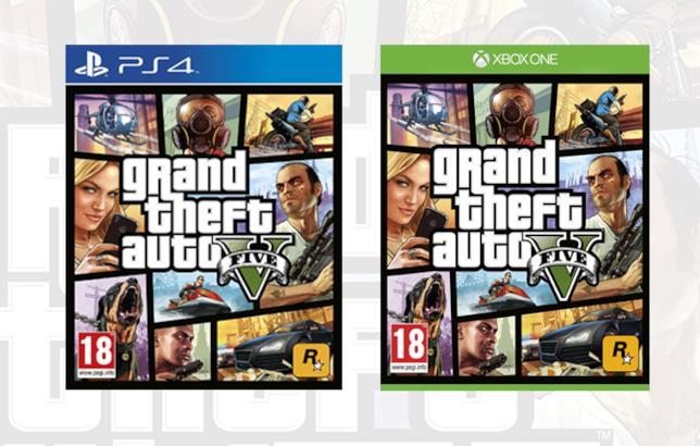 GTA V su PS4 e Xbox One