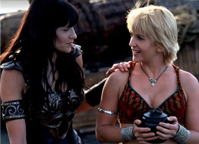 Xena e Olimpia nella serie originale