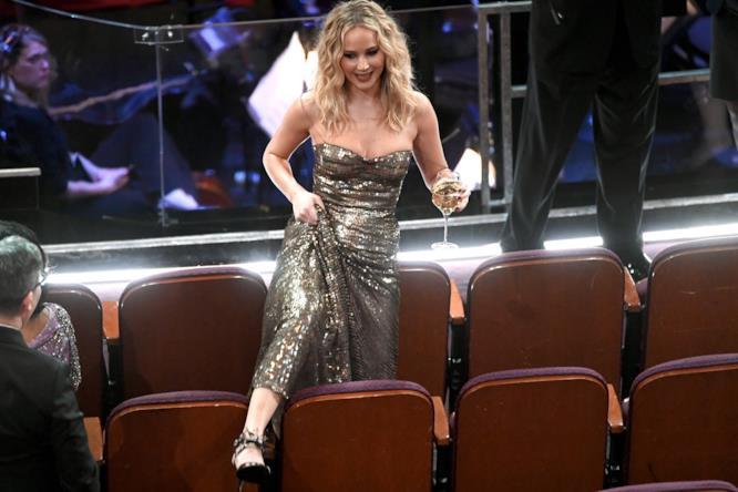 La notte pazza di Jennifer Lawrence