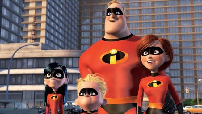 La famiglia Incredible al completo