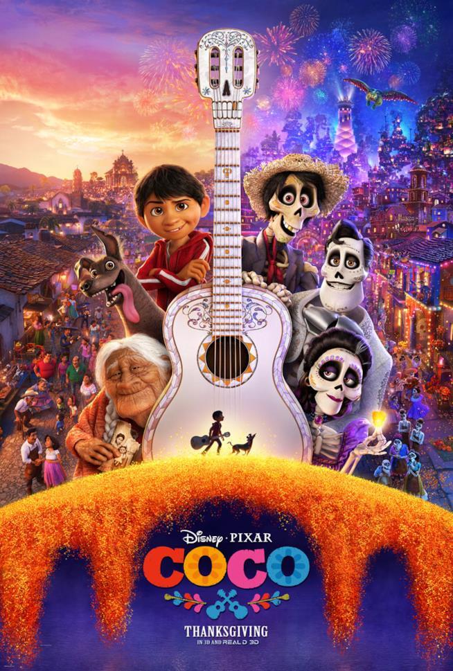 Il nuovo poster ufficiale di Coco, il film Disney/Pixar diretto da Lee Unkrich e Adrian Molina