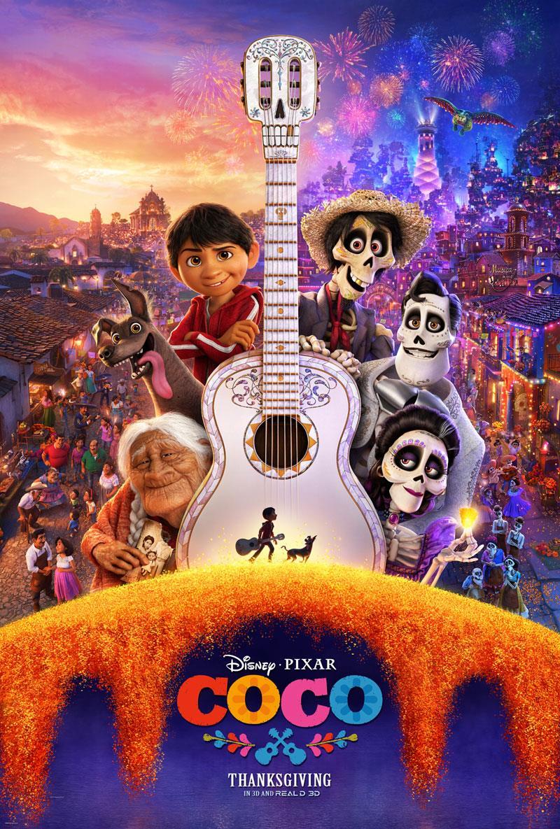 Coco nuovo trailer ufficiale e poster del film disney pixar