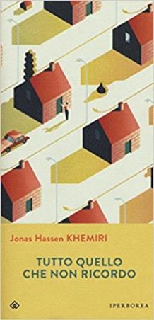 La copertina dell'ultimo romanzo di Jonas Hassen Khemiri