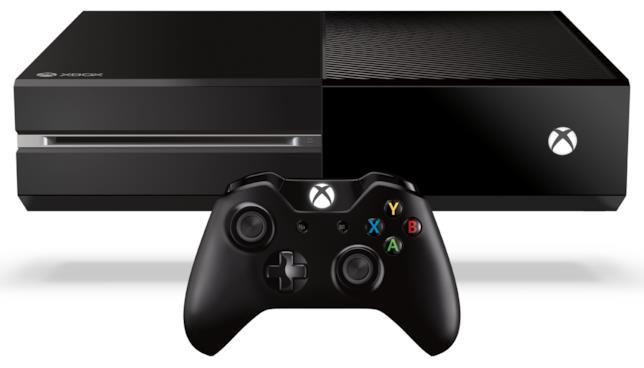 Immagine stampa della prima versione di Xbox One