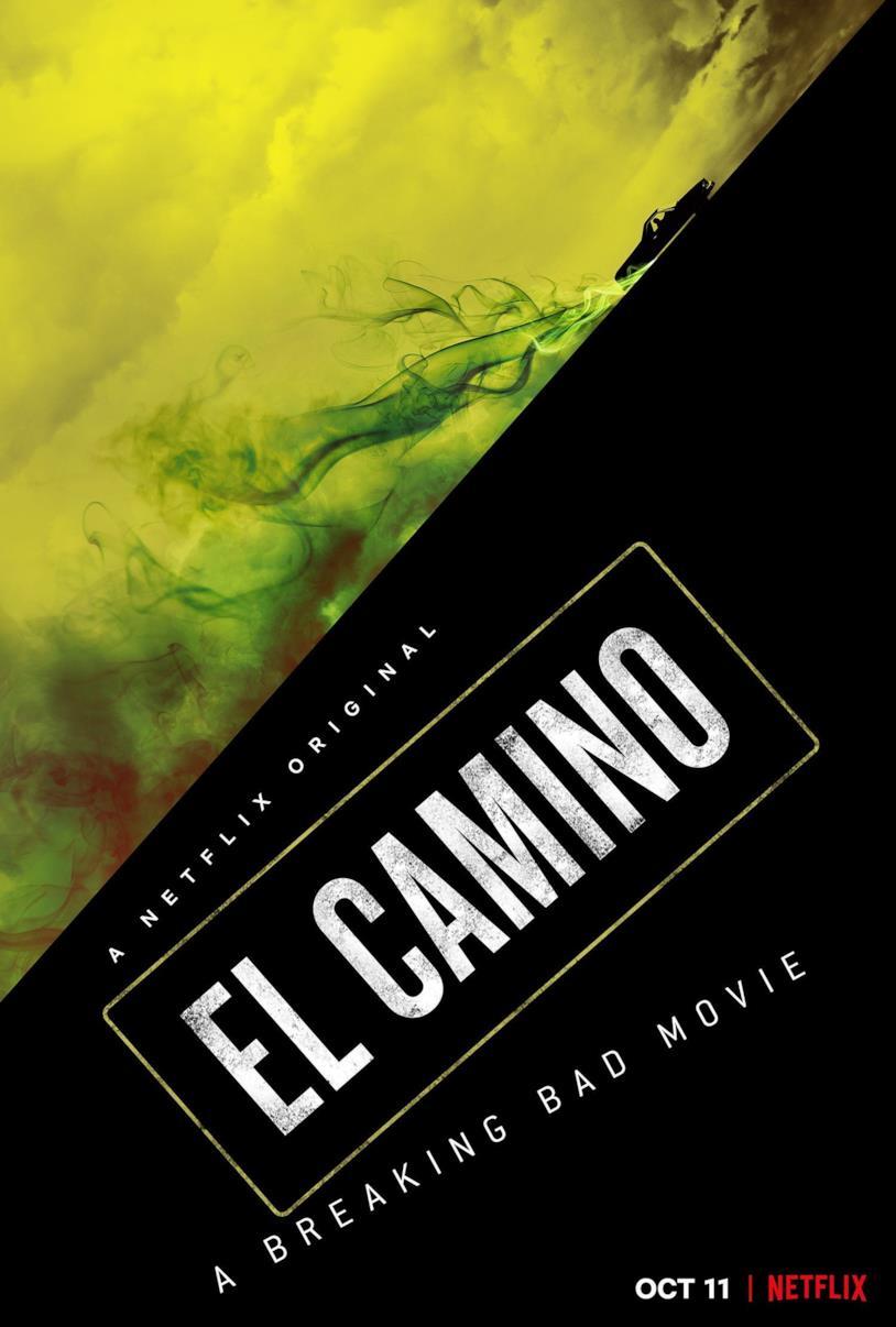 La locandina di El Camino: Il film di Breaking Bad