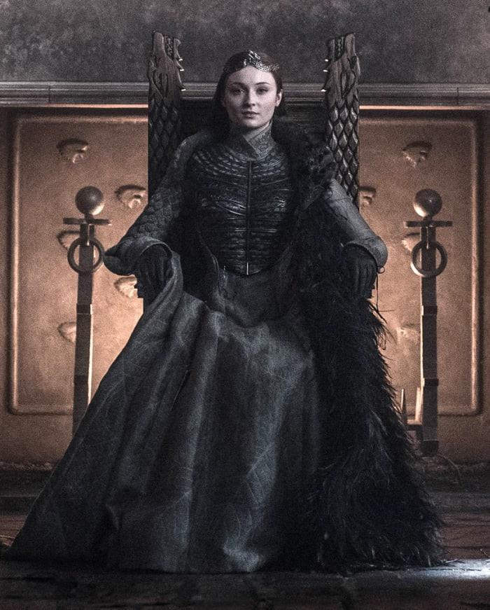 Il costume di Sansa in Game of Thrones
