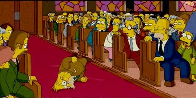 I Simpson Nonno Abe