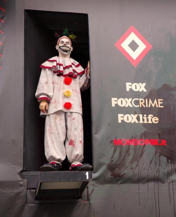 C'era anche Twisty il Clown alla What The FOX Compeititon