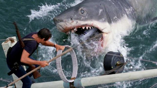 Una scena de Lo squalo