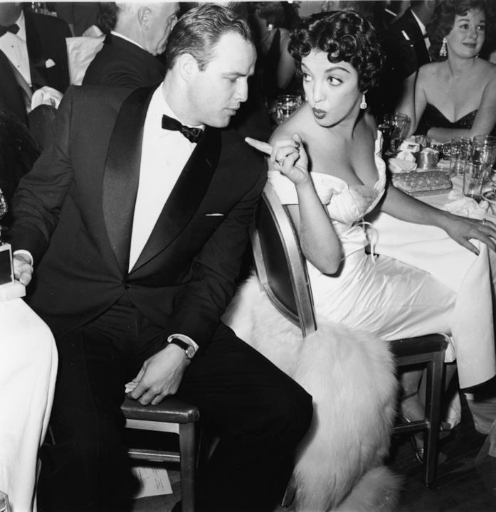 Marlon Brando e l'attrice Katy Jurado
