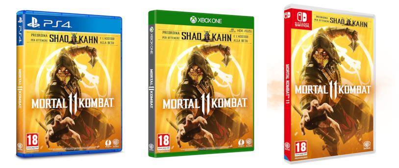 Mortal Kombat 11 per PC, PS4, Nintendo Switch e Xbox One