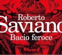 La cover del romanzo di Roberto Saviano, Bacio feroce