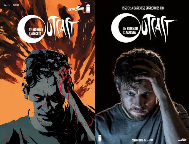 Outcast: confronto fra fumetto e serie TV