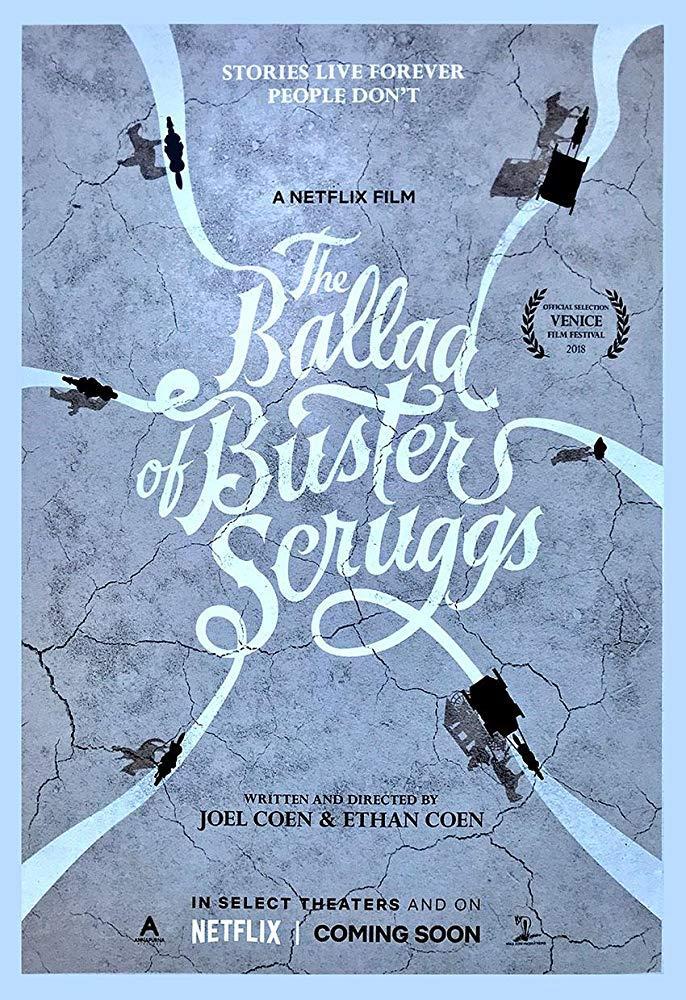 La locandina di La ballata di Buster Scruggs