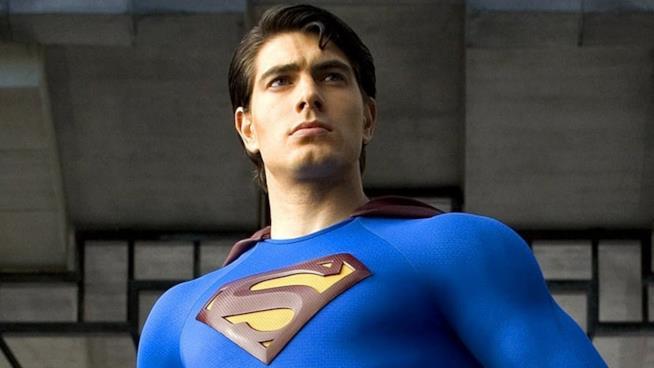 Brandon Routh nei panni di Superman