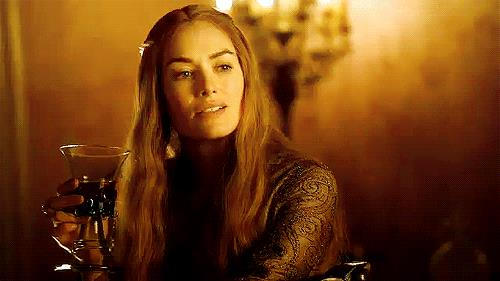 Cersei Lannister e il vino