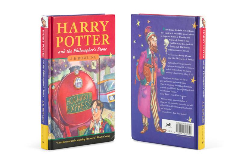 Il libro Harry Potter e la Pietra Filosofale