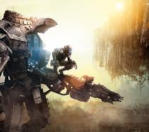La cover art del primo Titanfall