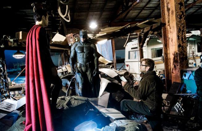 Zack Snyder dietro le quinte di Batman v Superman
