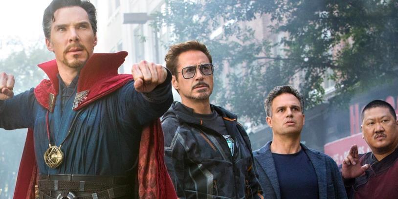 Strange in Avengers: Infinity War
