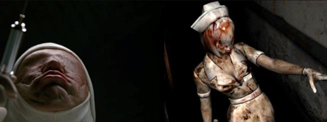 L'infermiera di Allucinazione Perversa che ha ispirato la Bubble Head Nurse di Silent Hill