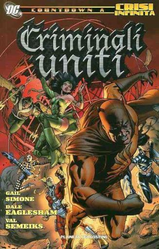 Copertina della miniserie Criminali Uniti, in edizione Planeta DeAgostini