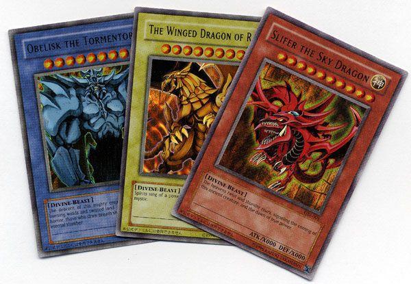 Le carte di Yu-Gi-Oh!