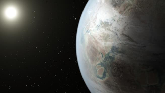 Il nuovo esopianeta Kepler 452-B