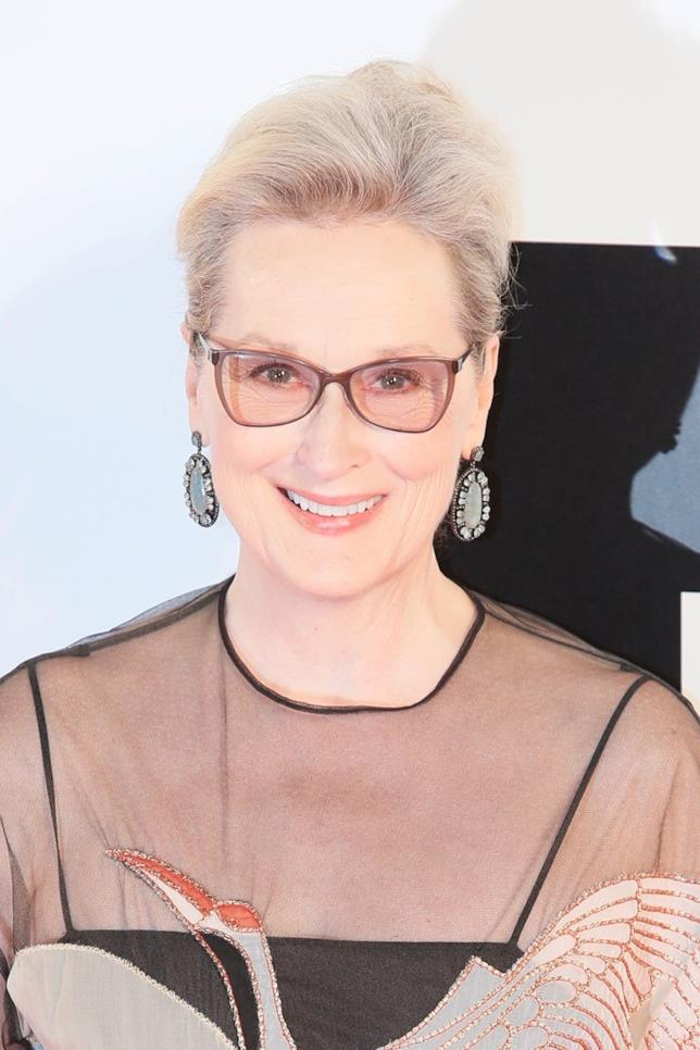 Meryl Streep durante un evento mondano