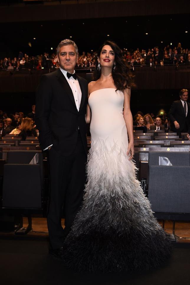 George e Amal Clooney a Parigi