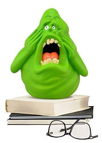 La lampada notturna di Slimer che emette luce verde