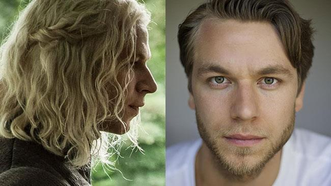 Rhaegar Targaryen, interpretato da Wilf Scolding in Game of Thrones
