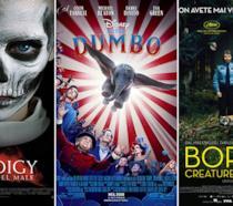 I poster di The Prodigy - Il figlio del male, Dumbo, Border - Creature di confine