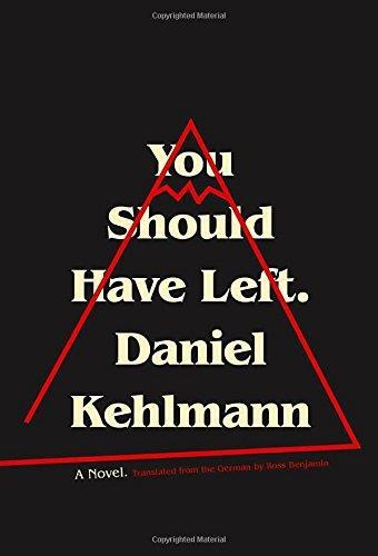 La copertina del romanzo You Should Have Left