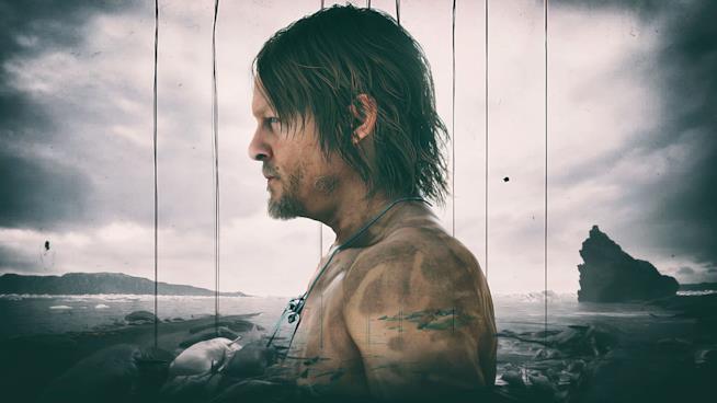 Sam, protagonista di Death Stranding, interpretato da Norman Reedus