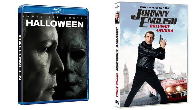 Johnny English colpisce ancora e Halloween - Home Video - DVD e Blu-ray