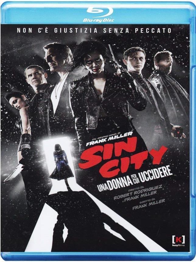 Sin City: Una donna per cui uccidere, la cover della versione blu-ray