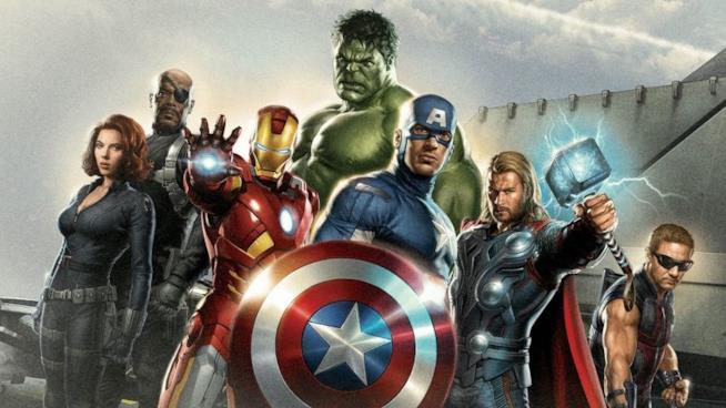 Gli Avengers al gran completo