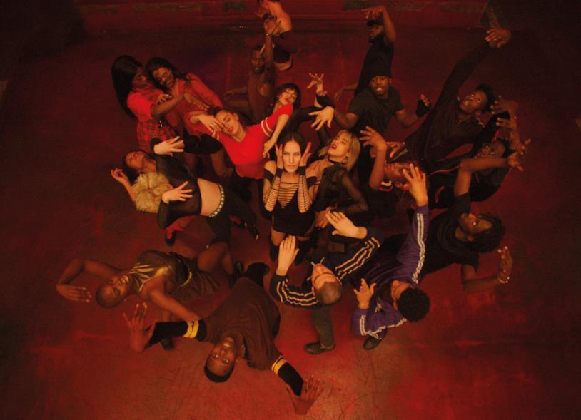 Una scena della festa dei ballerini di Climax