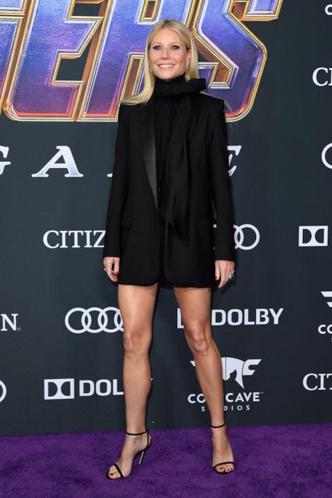 Gwyneth Paltrow sul red carpet di Avengers: Endgame