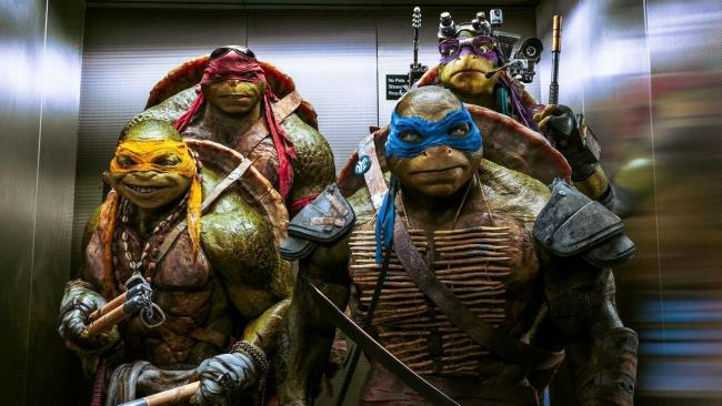 I protagonisti di Tartarughe Ninja 2: Fuori dall'Ombra
