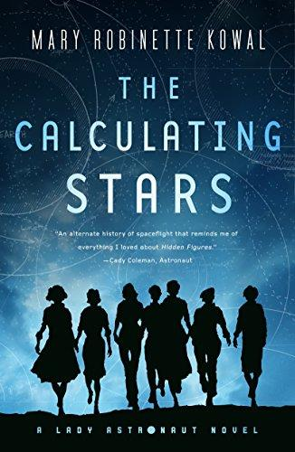 La copertina di The Calculating Stars