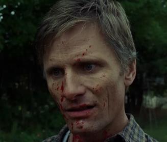 Viggo Mortensen in una scena del film
