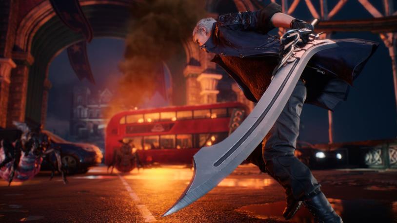 Devil May Cry 5 in un'immagine dalla Gamescom 2018