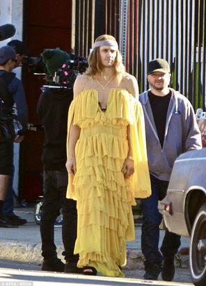 James Franco adotta il look di Beyoncé