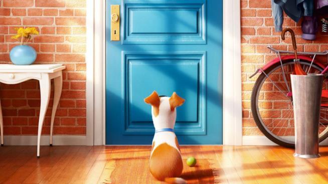 Max in una scena di Pets - Vita da Animali