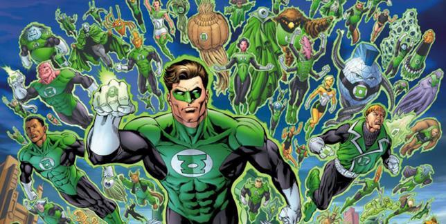 Il corpo delle Lanterne Verdi